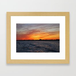 Changes on the Caloosahatchee II Framed Art Print