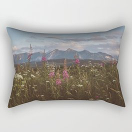 Mountain vibes - Landscape and Nature Photography Rectangular Pillow