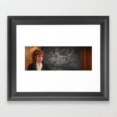 Interior Lucy Framed Art Print