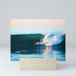 Warm Surf Mini Art Print
