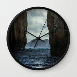 Kicker Rock Galapagos Wall Clock