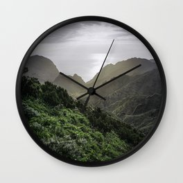 Masca, Tenerife, Spain Wall Clock
