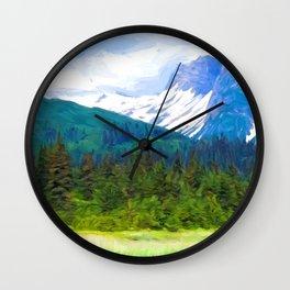Lake Clark Park Wall Clock
