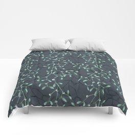 Under The Mistletoe Pattern Comforters