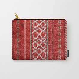 TRADITIONAL BULGARIAN FOLK PATTERN  Carry-All Pouch