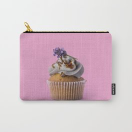 Lavender Cupcake Carry-All Pouch