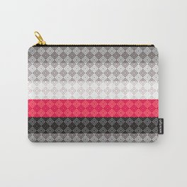 Striped geometric pattern Carry-All Pouch