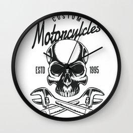 Custom Moto Wall Clock