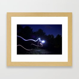 Headlamps Framed Art Print