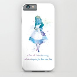 Alice iPhone Case