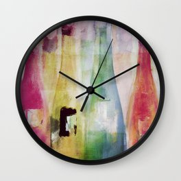 Bouteilles Wall Clock