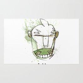 Coffee Face 01 Rug