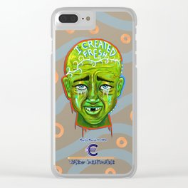 The Priceless Fresh French Kid Clear iPhone Case