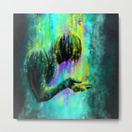 The oil from heaven Metal Print