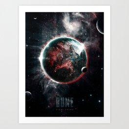 Dune Geidi Prime Planet Poster Art Print
