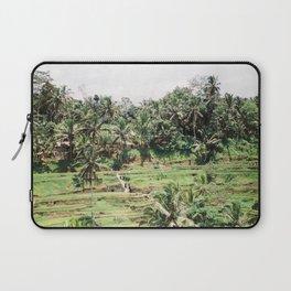 Tegalalang Rice fields near Ubud Bali, Indonesia | Travel film photography wall art Laptop Sleeve
