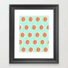 Grapefruit II Framed Art Print