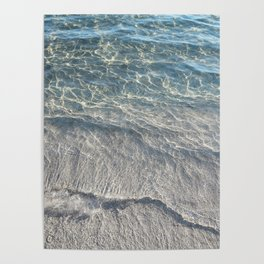 Water Photography Beach Poster