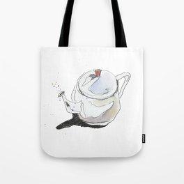 Teapot & Bubbles Tote Bag