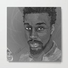I Draw Faces | No.1-7 Metal Print
