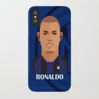 ronaldo iPhone & iPod Cases featuring Ronaldo Toon by Sport_Designs