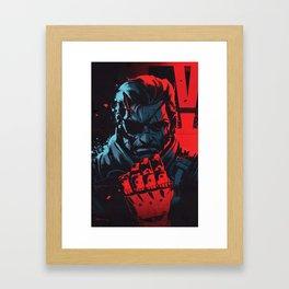 V Has Come To Framed Art Print