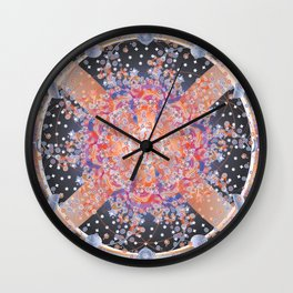 Mayan Galaxy Wall Clock
