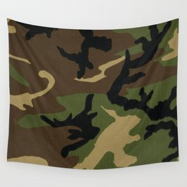 Camo Wall Tapestry