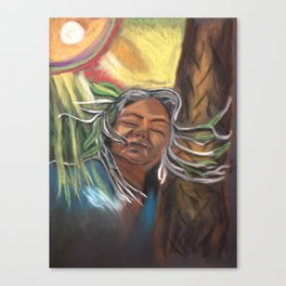 Tree Lady Canvas Print