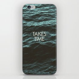 Jim Guthrie Takes Time Water Design iPhone Skin