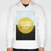 brand new Hoodies featuring Brand New Day by serenefolio