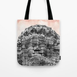 Buddha face with candy Tote Bag