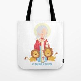S Ignatius of Antioch Tote Bag