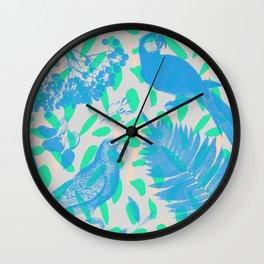 GUACAMAYA AZUL Wall Clock