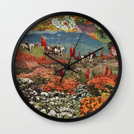 Adventuring Wall Clock
