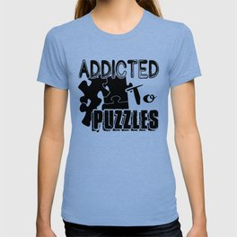 Addicted To Puzzles Shirt T-shirt