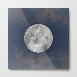 The Moon I Metal Print