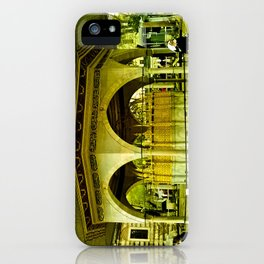 Passing people. iPhone Case