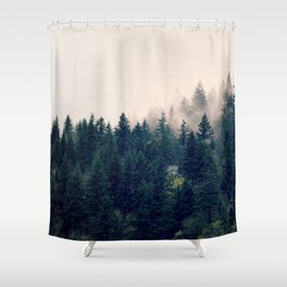 My Happy Place Shower Curtain