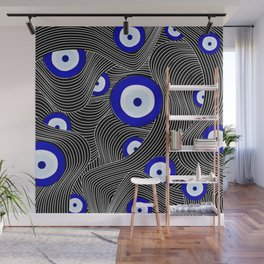 Swerve Evil Eye Wall Mural