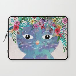 Flower cat II Laptop Sleeve