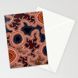 Aboriginal Art Authentic - Pathways Stationery Cards