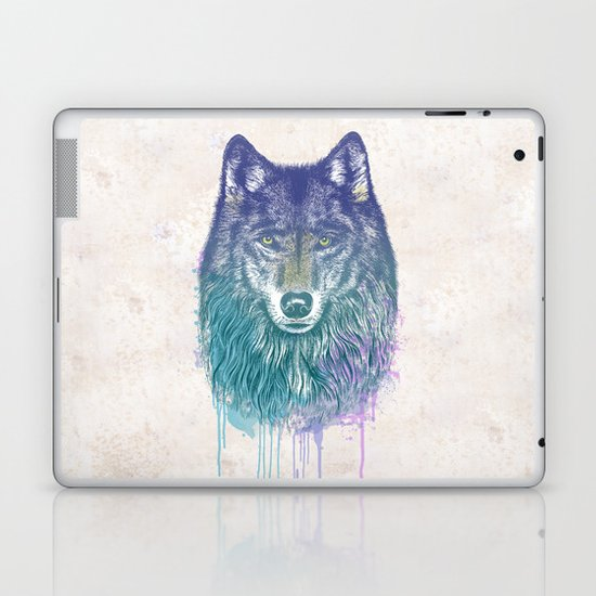I Dream of Wolf Laptop & iPad Skin