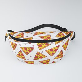 Pizza Pattern | Fast Food Cheese Italian Fanny Pack