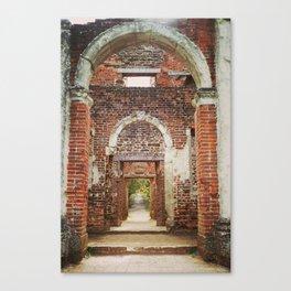 Mansion Hallway Canvas Print