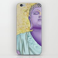 buddhism iPhone & iPod Skins featuring Buddhism by Handsomecracker