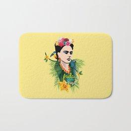 Frida goes to Brazil! Bath Mat