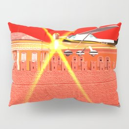 Squared: We could be heroes just for one day Pillow Sham