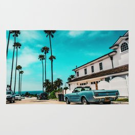 California dreaming x Rug