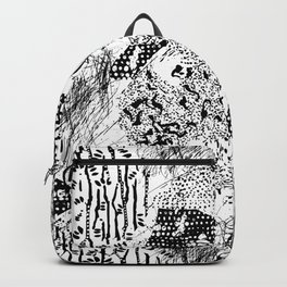 graphic mosaic Backpack